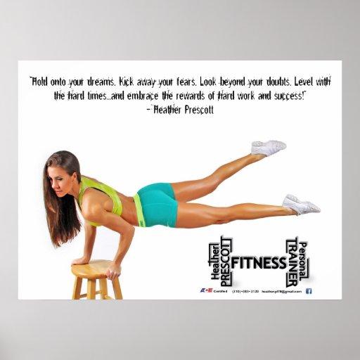 Heather Prescott Fitness Posters