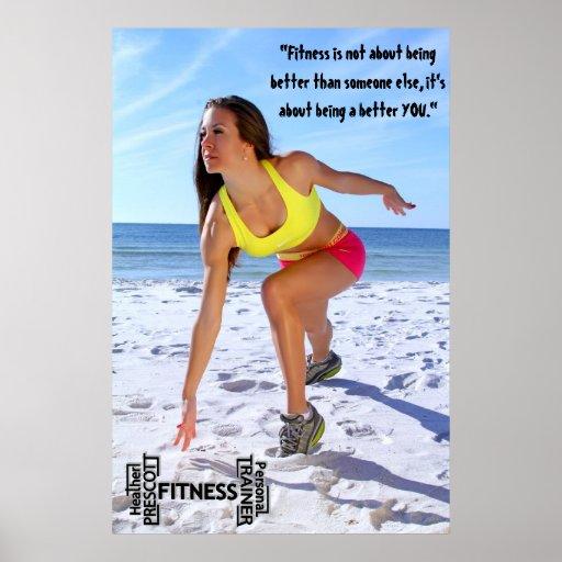 Heather Prescott Fitness prints Print