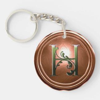 Heather's Heartland keychain