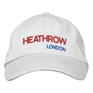 Heathrow Airport Adjustable Hat Embroidered Baseball Caps