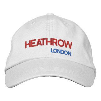 Heathrow Airport Adjustable Hat Embroidered Baseball Caps