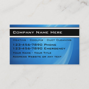 Heating and cooling business cards zazzle au heating cooling business cards reheart Images