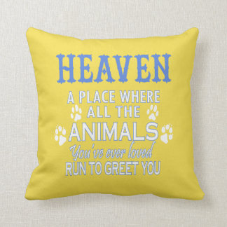 Heaven A Place Cushion