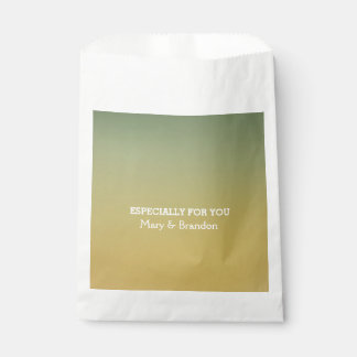 Heaven and Earth Watercolor Wedding Favour Bags