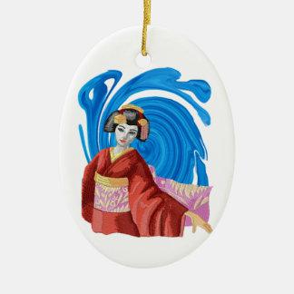 Heaven Awaits Ceramic Ornament