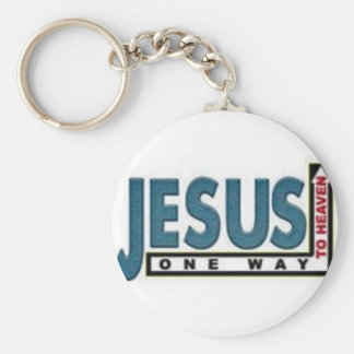 Heaven Basic Round Button Key Ring