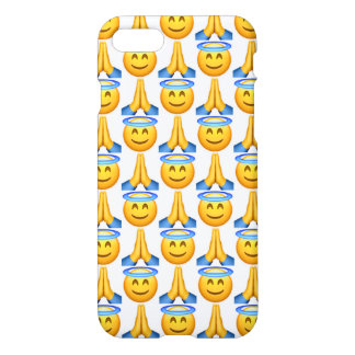 Heaven Emoji iPhone 7 Glossy Case