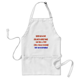 Heaven has no rage like love to hatred turned adult apron