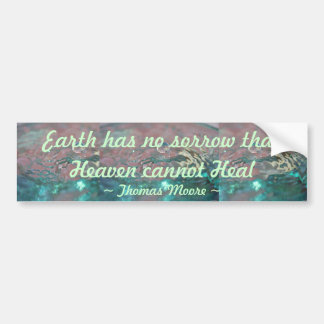 Heaven Heal bumper sticker
