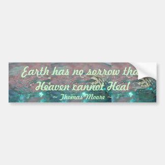Heaven Heal bumper sticker