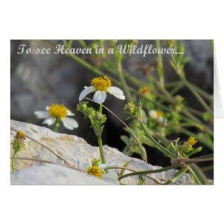 Heaven in a Wildflower Card