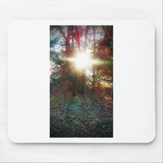 Heaven Let Your Light Shine Down Mouse Pads