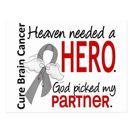 Heaven Needed a Hero Brain Cancer Partner Postcards