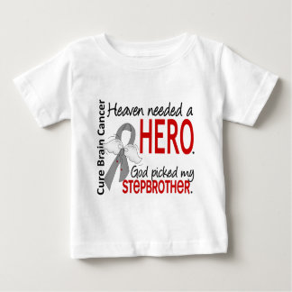 Heaven Needed a Hero Brain Cancer Stepbrother T Shirts