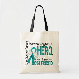 Heaven Needed a Hero Brain Tumor Budget Tote Bag