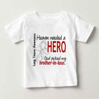 Heaven Needed a Hero Brother-In-Law Lung Cancer Tee Shirts
