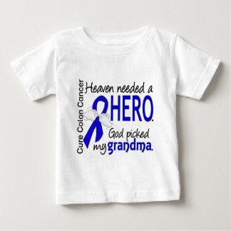 Heaven Needed a Hero Colon Cancer Grandma Baby T-Shirt