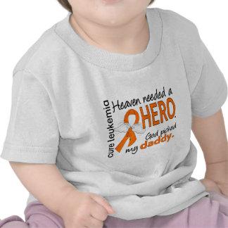 Heaven Needed a Hero Daddy Leukemia T Shirt