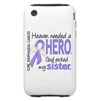 Heaven Needed Hero Esophageal Cancer Sister iPhone 3 Tough Case