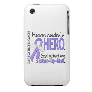 Heaven Needed Hero Esophageal Cancer Sister-In-Law iPhone 3 Covers