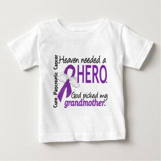 Heaven Needed Hero Grandmother Pancreatic Cancer Baby T-Shirt