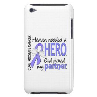 Heaven Needed Hero Prostate Cancer Partner iPod Case-Mate Cases