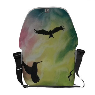 Heaven Of Birds Courier Bags