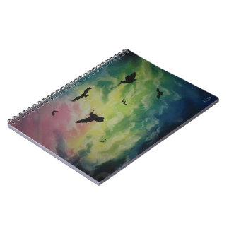 Heaven Of Birds Notebook