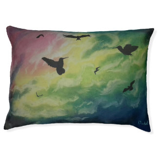 Heaven Of Birds Pet Bed