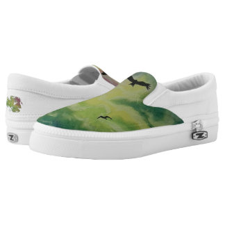 Heaven Of Birds Slip On Shoes