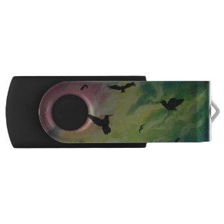 Heaven Of Birds Swivel USB 2.0 Flash Drive