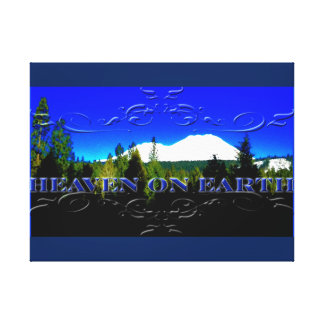 Heaven on Earth   money mountain Canvas Print
