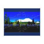 Heaven on Earth | money mountain Gallery Wrap Canvas