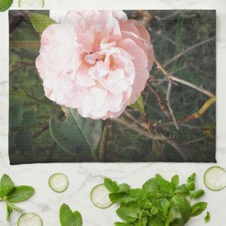 Heaven on Earth Roses in Dark Vignette Tea Towel