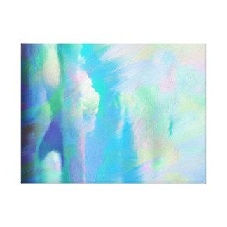 Heaven Pastels Wall Art Canvas Print