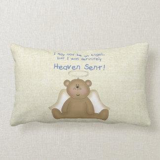 Heaven Sent Teddy Bear Angel Pillow (boys)