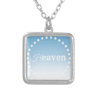 Heaven Silver Plated Necklace