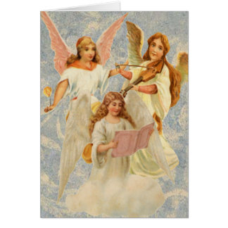 Heavenly Angels Easter Card
