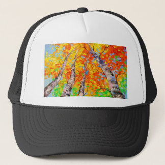 Heavenly birch trucker hat