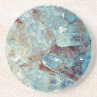 Heavenly Blue Quartz Crystal Coaster