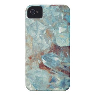 Heavenly Blue Quartz Crystal iPhone 4 Case