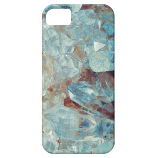 Heavenly Blue Quartz Crystal iPhone 5 Cover