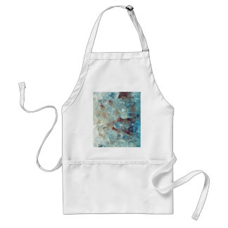 Heavenly Blue Quartz Crystal Standard Apron
