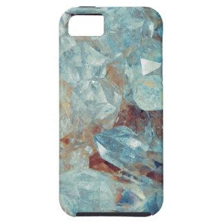 Heavenly Blue Quartz Crystal Tough iPhone 5 Case