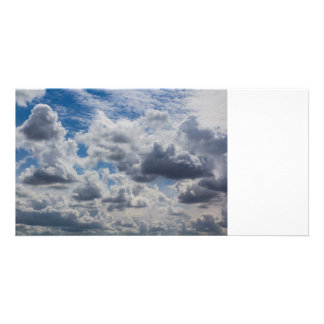 Heavenly Clouds Photo Greeting Card