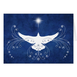 Heavenly Dove Christmas Card