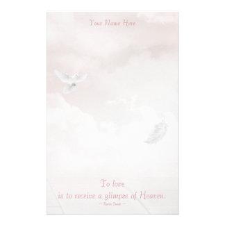 Heavenly Dove Stationery