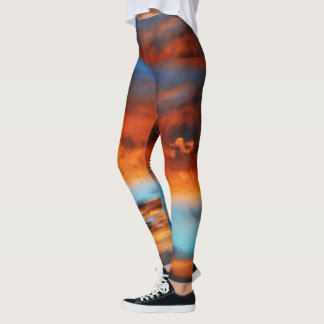 Heavenly Fire Custom Women's Leggings