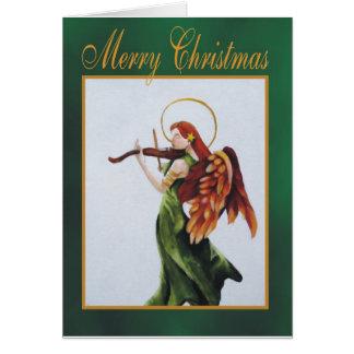 Heavenly Harmony Chirstmas card