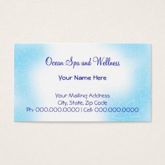 heavenly hibiscus.blu business card